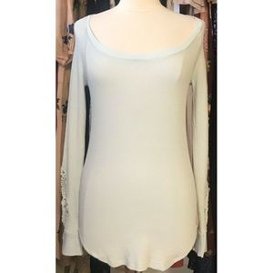 Free People Synergy Cuff Thermal Top Size Large